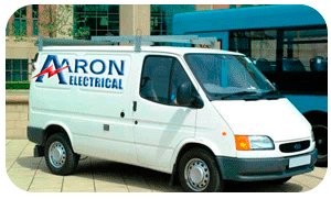 Aaron Electrical Batley Van Photo
